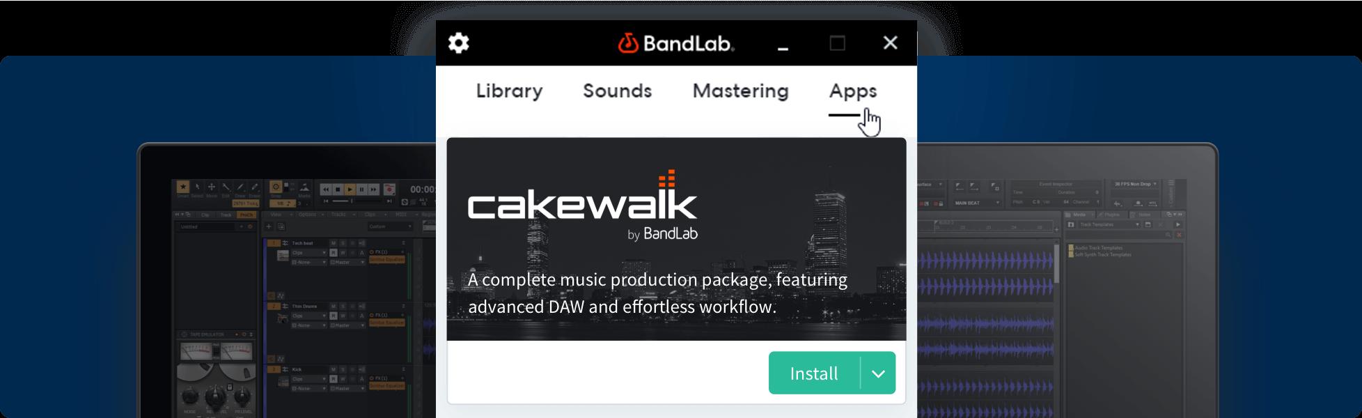 Free Upgrade to Cakewalk by BandLab